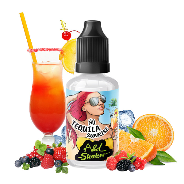 Concentré No Tequila Sunrise 30ml - A&L Shaker