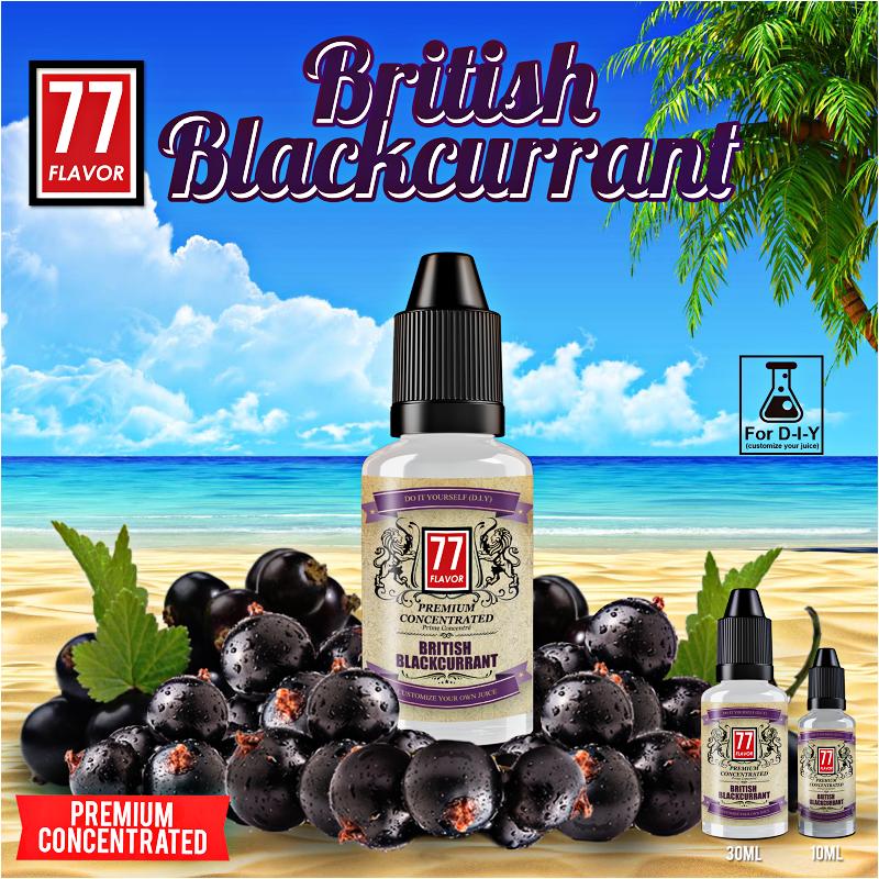 Concentré British Blackcurrant 30mL
