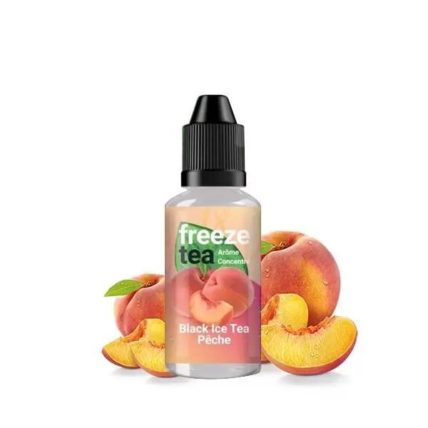 Concentré Black Ice Tea Peach 30ml - Freeze Tea