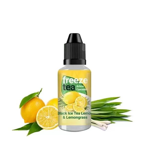 Concentré Black Ice Tea Lemon & Lemongrass 30ml - Freeze Tea