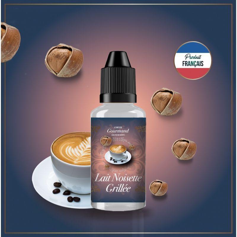 Coeur Gourmand Grand Réserve - Lait Noisette Grillée Concentré 30ML