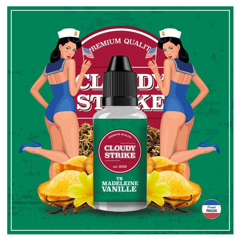 Cloudy Strike - TB Madeleine Vanille - 30 ML DIY