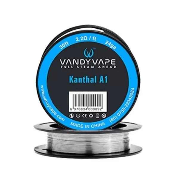 Kanthal A1 24ga 30ft (2.2Ω/ft) - Vandy Vape