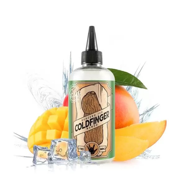 Mango Ice 0mg 200ml + Pipette- Cold Finger by Joe\'s Juice