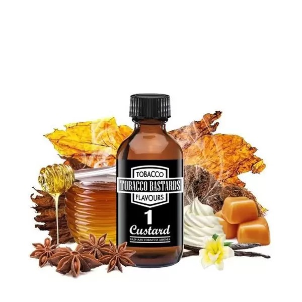Concentré Tobacco Bastard N°1 Custard 10ml - FlavorMonks