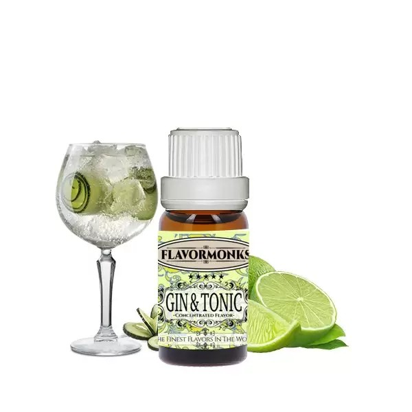 Concentré Gin & Tonic 10ml - FlavorMonks