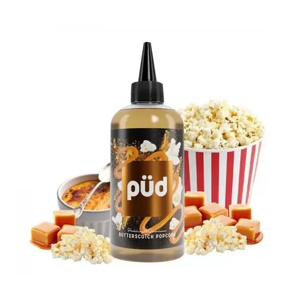 Butterscotch Popcorn 0mg 200ml + Pipette - Püd by Joe\'s Juice
