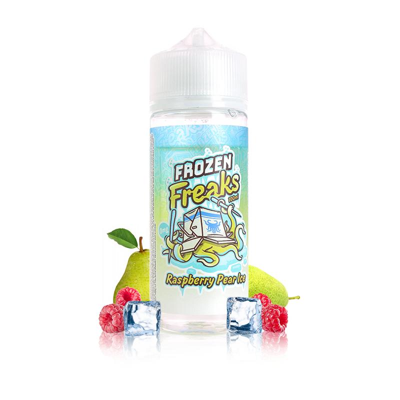 Raspberry & Pear Ice 0mg 100ml - Frozen Freaks