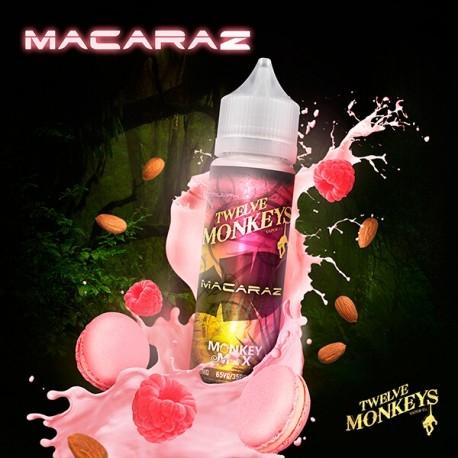 E-liquide Macaraz 50ml - Twelve Monkeys