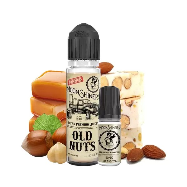 Old Nuts 0mg 50ml + Booster 10ml - MoonShiners