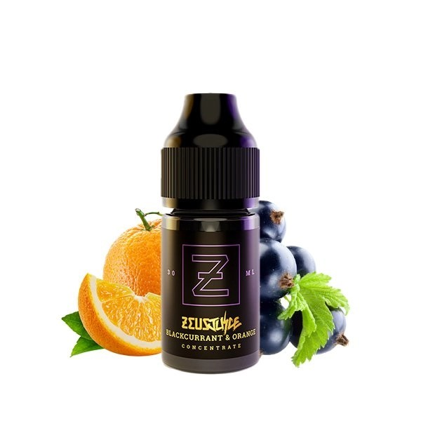Concentré 30ml Blackcurrant and Orange - Zeus Juice