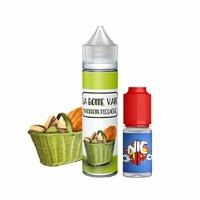 Madeleine Pistache 0mg 50 ml + Booster 10ml - La Bonne Vape