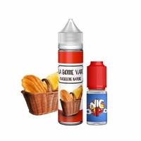 Madeleine Nature 0mg 50 ml + Booster 10ml - La Bonne Vape