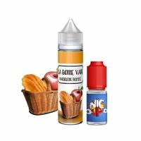 Madeleine Pomme 0mg 50 ml + Booster 10ml - La Bonne Vape