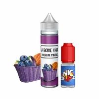 Madeleine Myrtille 0mg 50 ml + Booster 10ml - La Bonne Vape