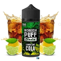 Soda Lemon/Lime Cola E-Liquid By Moreish 100 ml