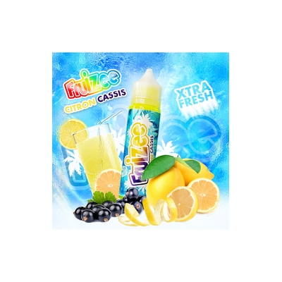 Citron Cassis 50ml 0mg [Fruizee]