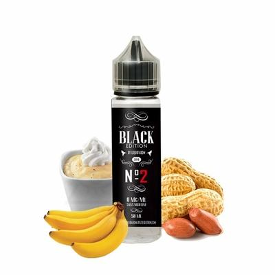 N°2 0mg 50ml - Black Edition by Liquid'arom