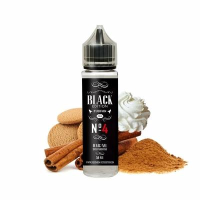 N°4 0mg 50ml - Black Edition by Liquid'arom