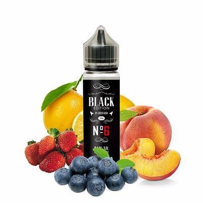 N°6 0mg 50ml - Black Edition by Liquid'arom