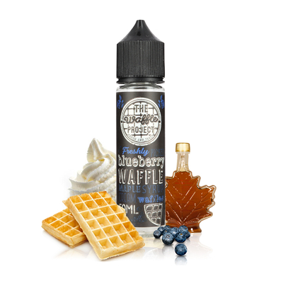Blueberry Waffle 0mg 50ml - The Waffle Project