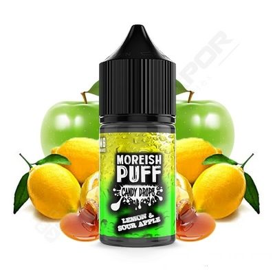 Lemon and Sour Apple By Moreish Puff Candy Drops