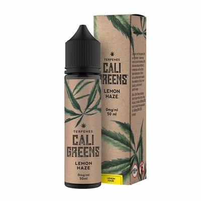 Cali Greens Lemon Haze Terpenes 50ml Short Fill E-Liquid