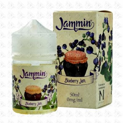 Blueberry Jam By Jammin Shortfill 50ml