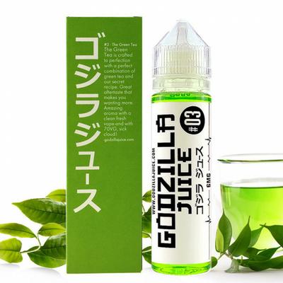 E-liquide The Green Tea de Godzilla Juice