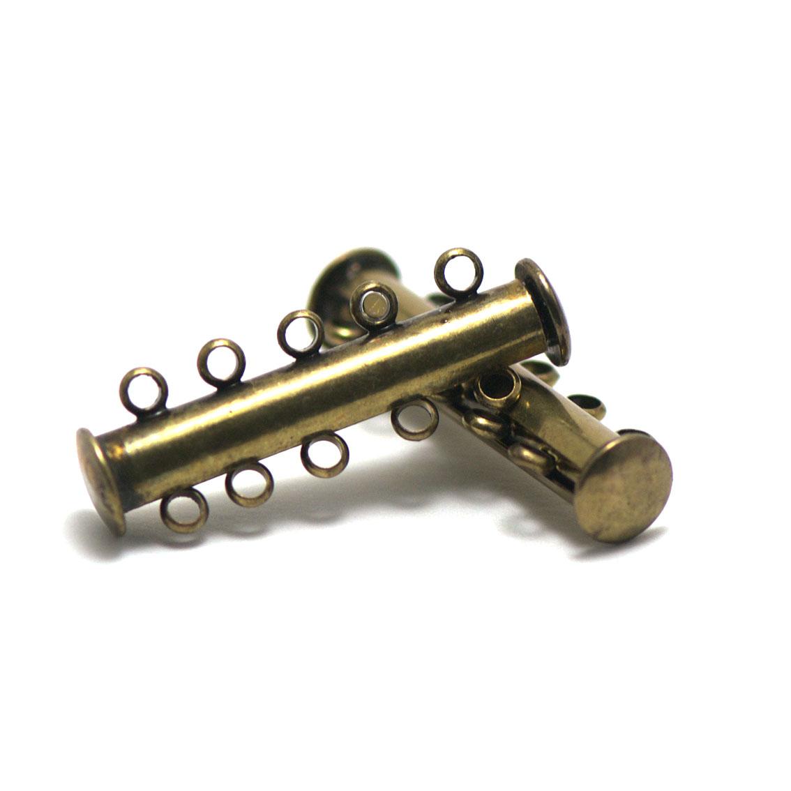 Argent dailymall 5 Pi/èces De Cylindre Aimant Magn/étique Fermoir Connecteurs Pour Bracelet Bricolage Fabrication De Collier