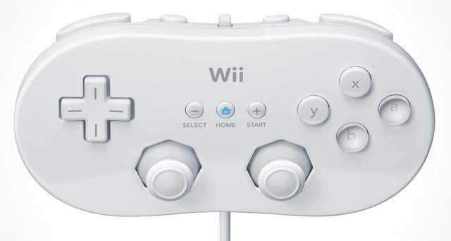 Manette Classic pour Wii