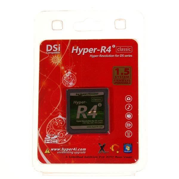 Hyper R4i pour DS / DSi Compatible Version 1.5