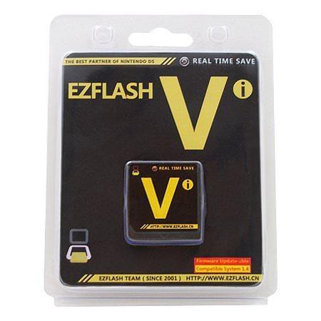 EZ Flash Vi Version Standard pour DS / DSi Compatible Version 1.4