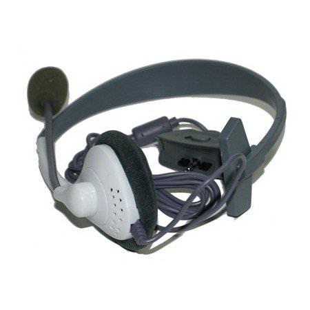 Casque Filaire avec Microphone pour Xbox 360