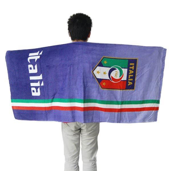 Serviette de Plage Football Italie