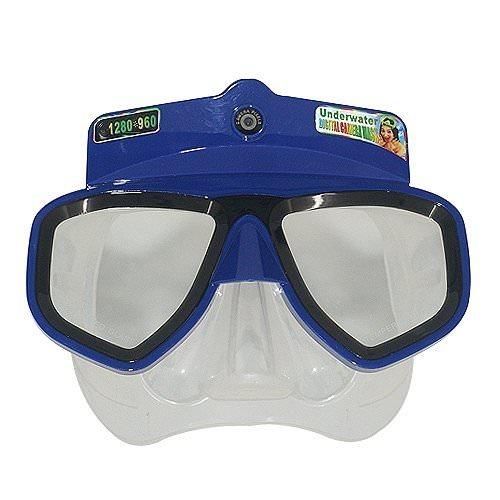 Masque de Plongée avec Caméra Intégrée