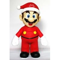 Figurine Mario Père Noël