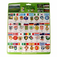 Pin's Football Afrique du Sud 2010 (Lot de 34)
