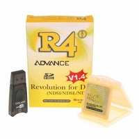 R4i Advance pour DS / DSi / DSi LL (XL) Compatible Version 1.4