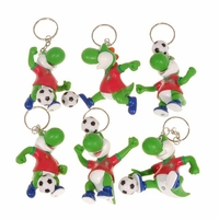 Porte Clé Yoshi Football Portugal (Lot de 6)