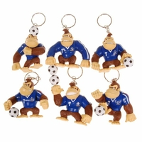 Porte Clé Donkey Kong Football France (Lot de 6)