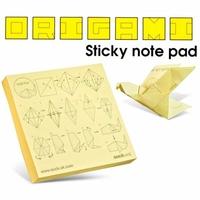 Bloc Notes Origami