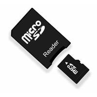Adaptateur Memory Stick Pro Duo pour Micro SD (Compatible PSP)