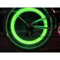 Bouchon à LED Bicyled Vert (Lot de 2)