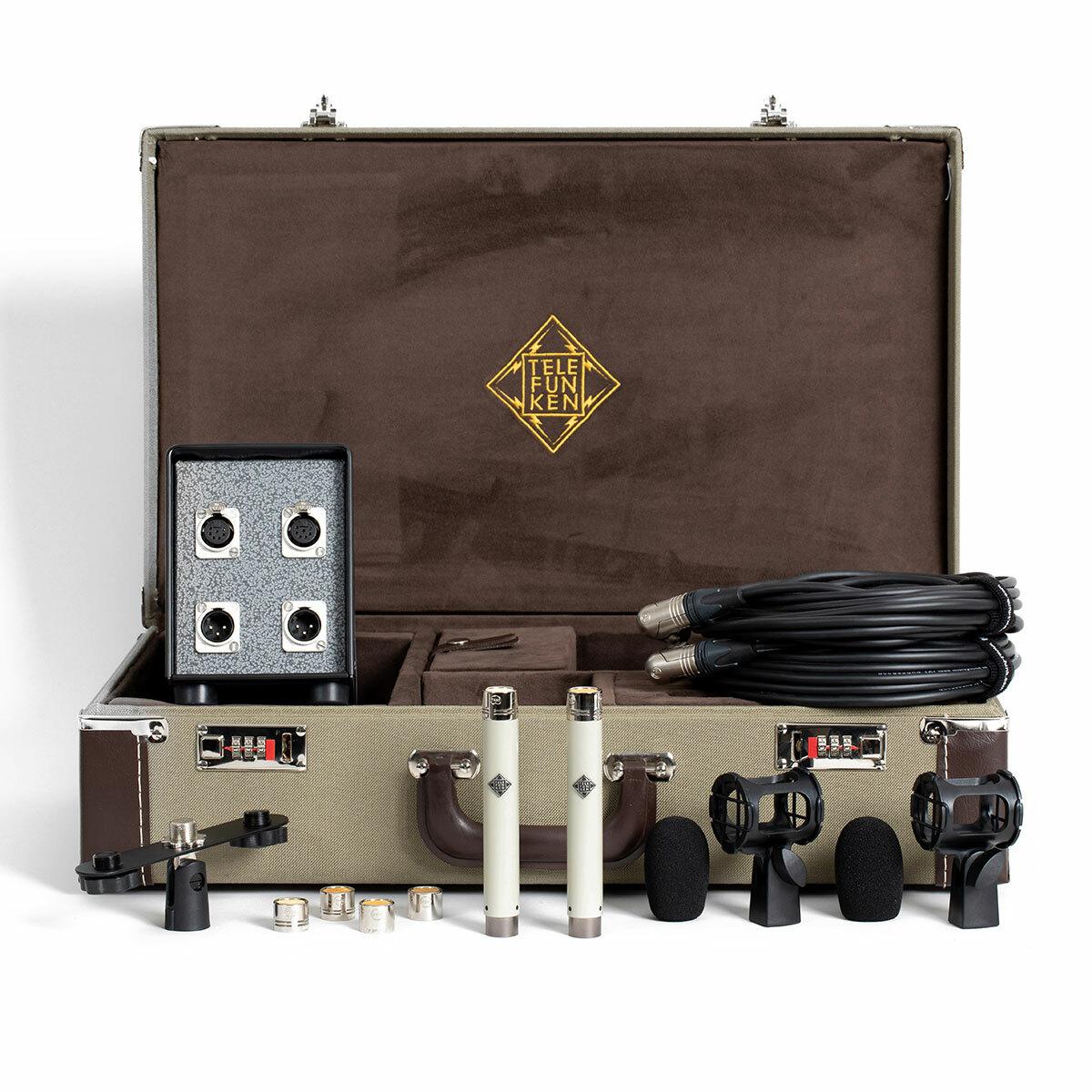 Telefunken M260 Master Stereo Set Microfono valvolare SDC