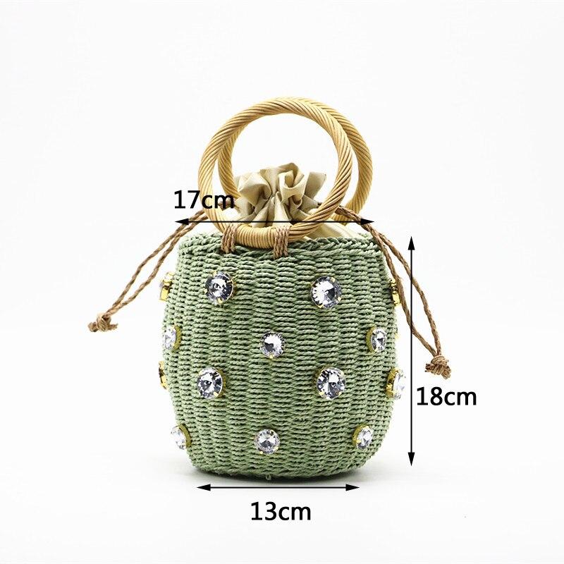sac à main en paille pour femme, accessoire de mode tendance