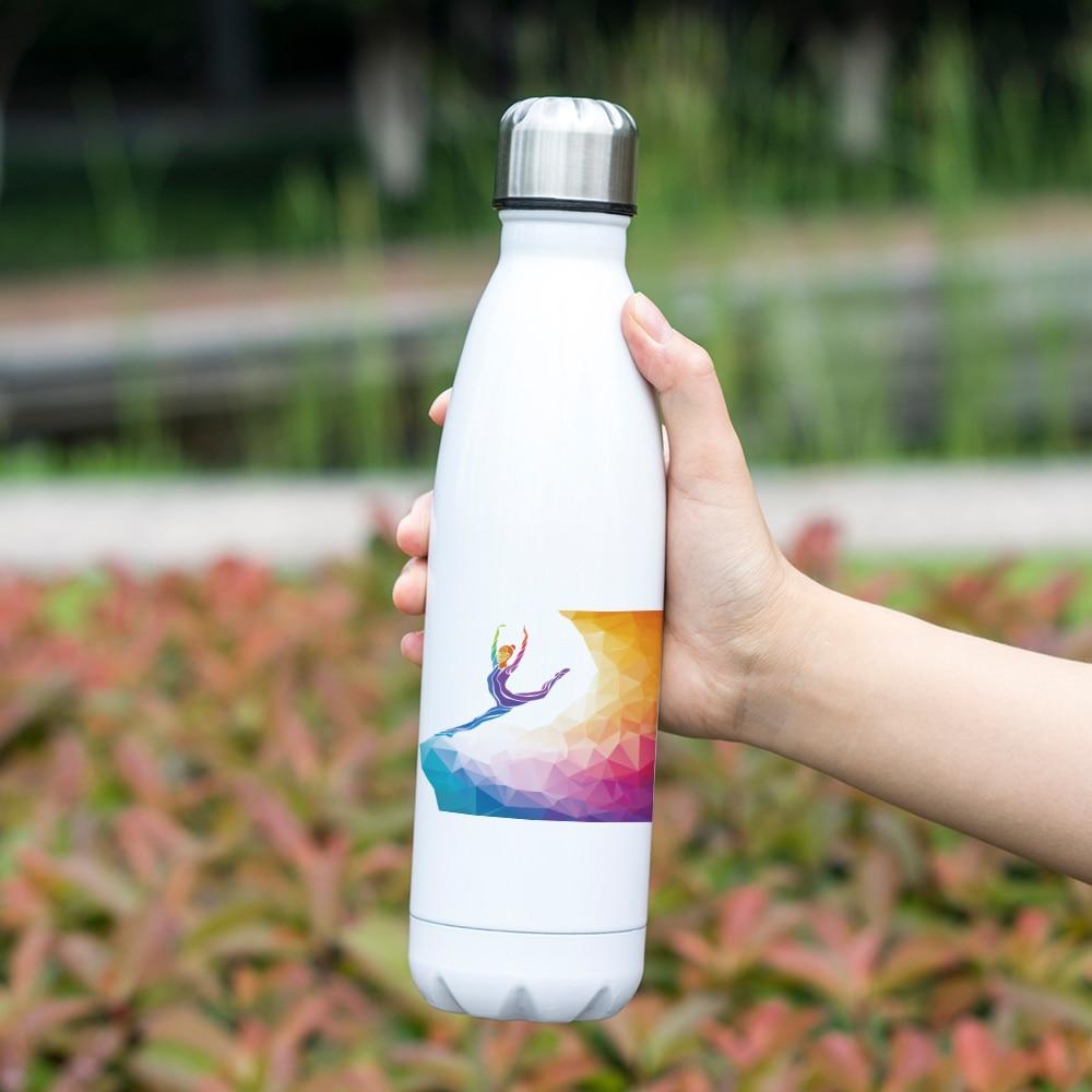 bouteille d'eau thermos, gourde sport fitness yoga