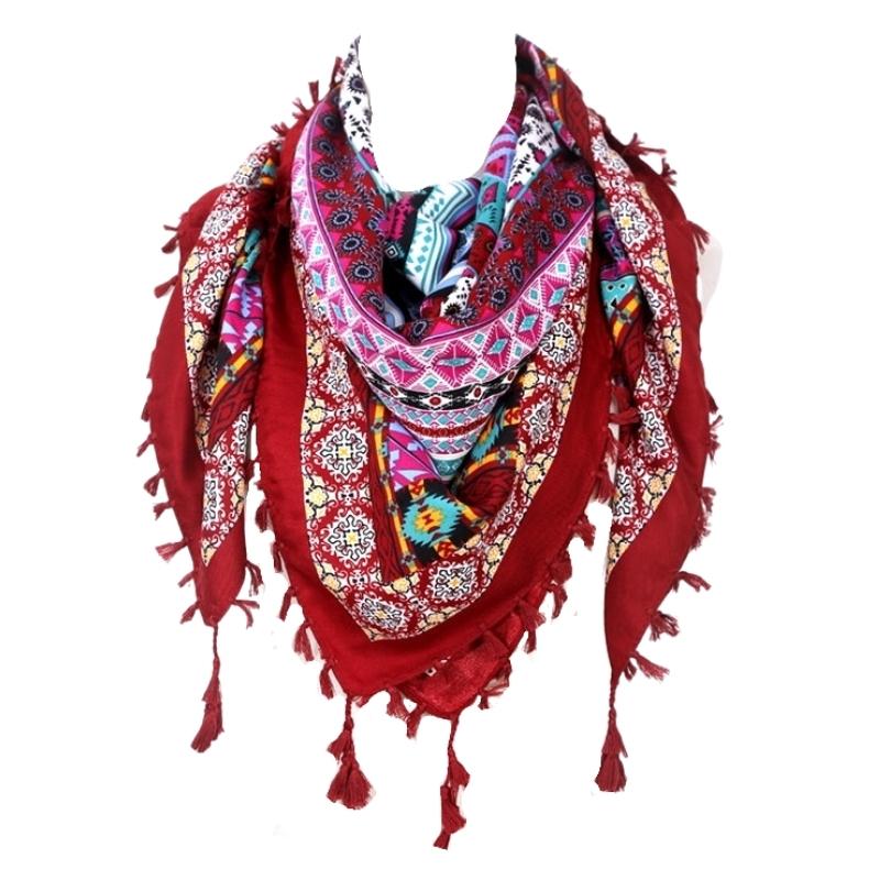 Foulard écharpe Karachi coton