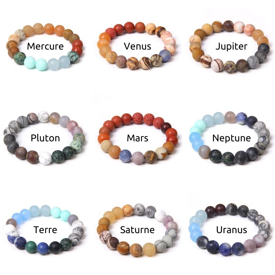 Bracelets Planète Homme Femme
