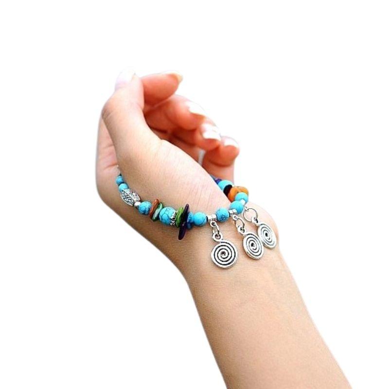 Bracelet Blue Charming bijou argent pour femme